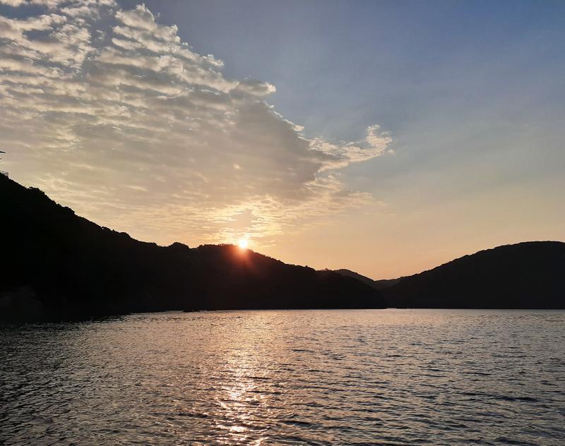 三重県南伊勢町の朝陽
