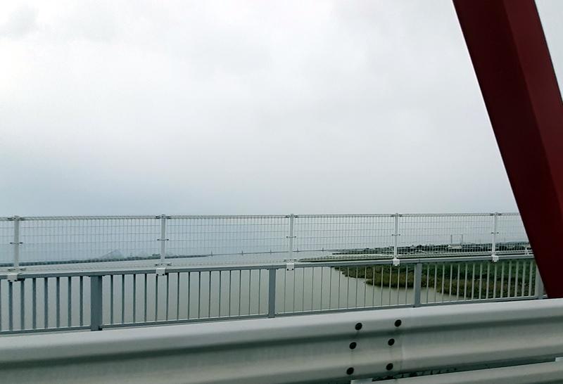 国道23号線の増水_長良川