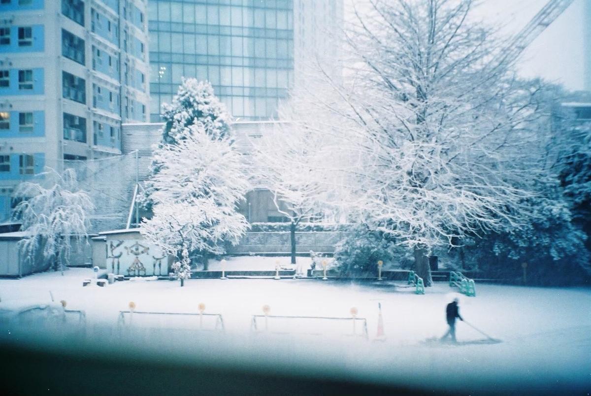 4年前くらいの雪が降った日
