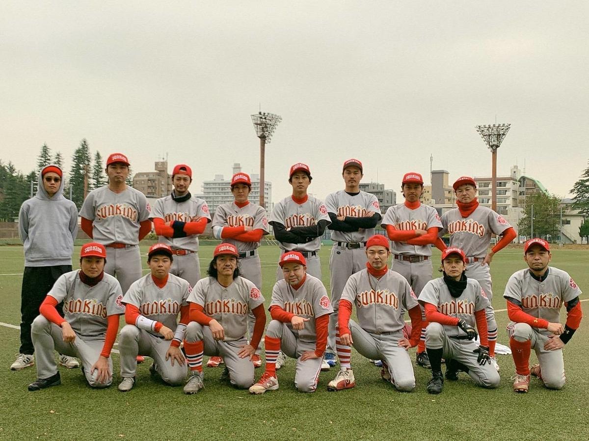 竹財さんの草野球チーム
