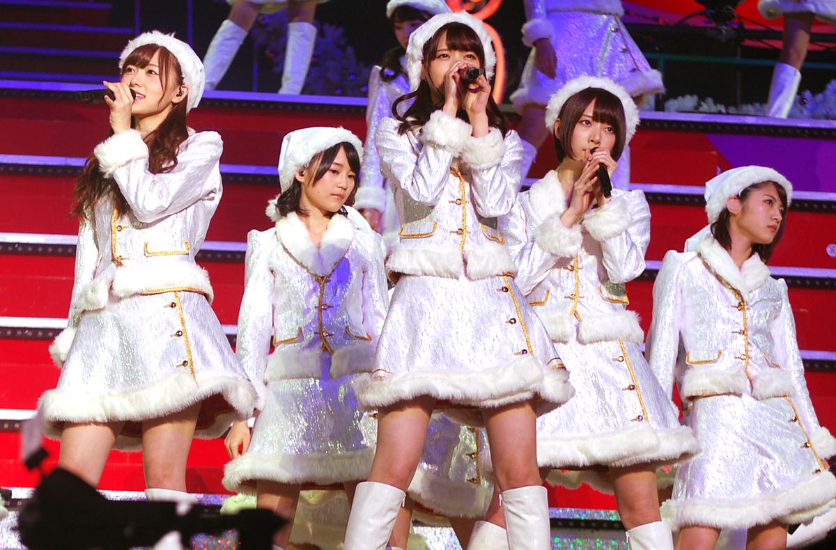 東京・有明コロシアムで行われたクリスマスライブ『Merry X'mas show 2014』(C)ORICON NewS inc.