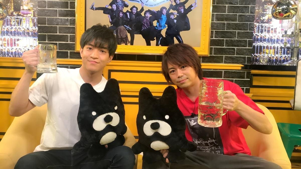 (左から)石川界人、浪川大輔(C)ABEMA,Inc.