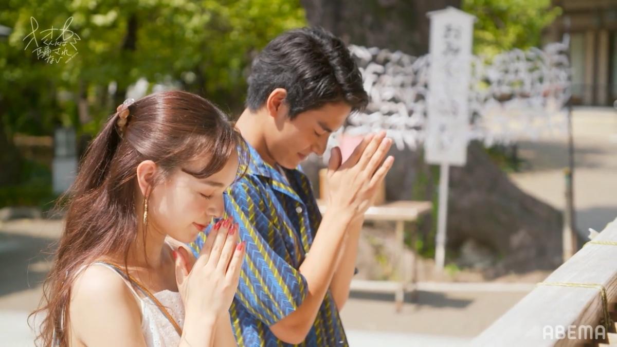 (左から)マリカ、よしき(C)ABEMA,Inc.
