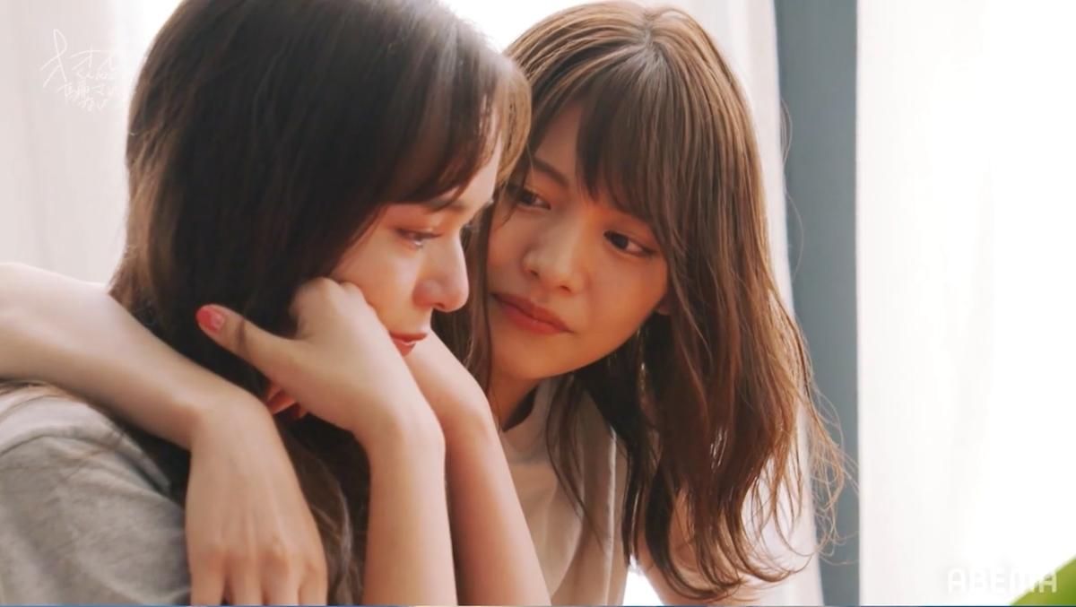 (左から)マリカ、ありさ(C)ABEMA,Inc.
