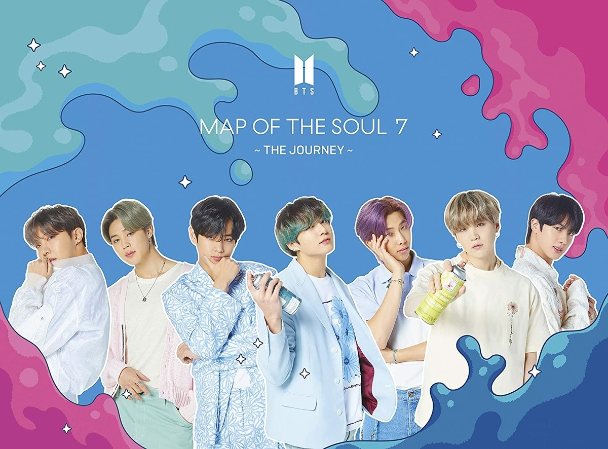 BTS『MAP OF THE SOUL : 7 ~ THE JOURNEY ~(初回限定盤B DVD付)』Universal Music、2020年