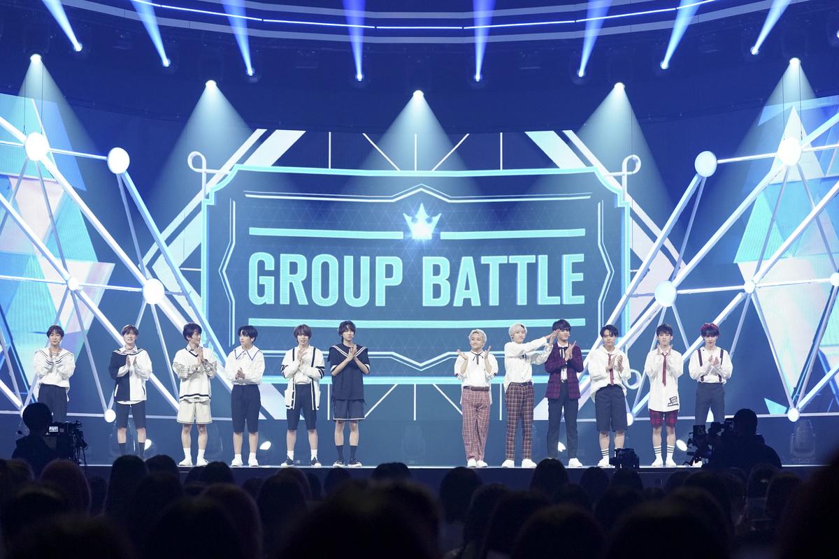 BTS『I NEED U』バトル(C)LAPONE ENTERTAINMENT