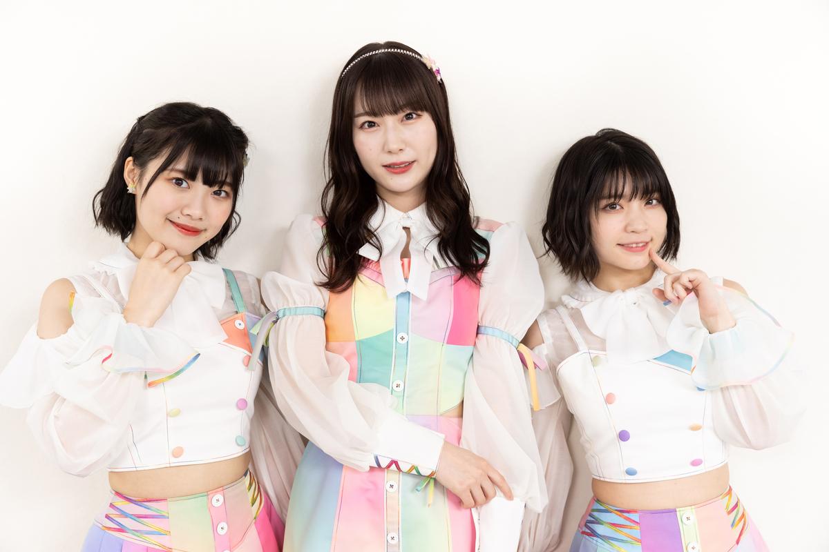(左から)的場華鈴さん、桐乃みゆさん、根本凪さん