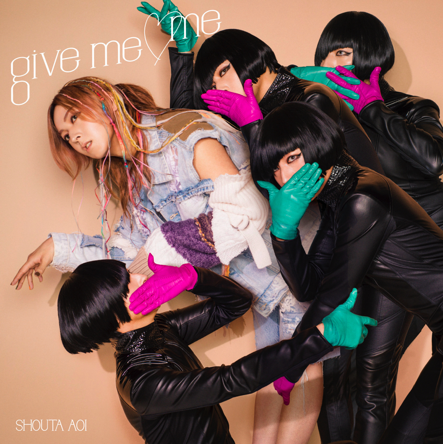 13th Single『give me ♡ me』