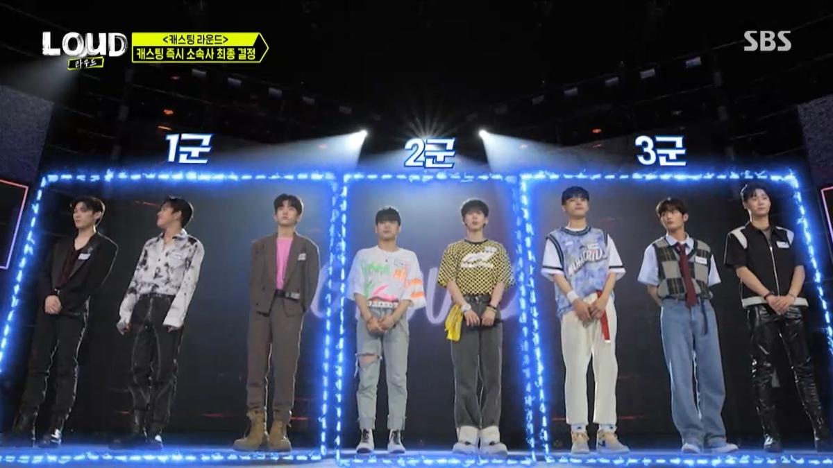 (左から)ウ・ギョンジュン、アマル、オ・ソンジュン、イ・イェダム、ユン・ミン、チョ・ドゥヒョン、カン・ヒョヌ、パク・ヨンゴン