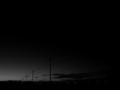 [風景][モノクロ]夜の始まり