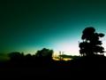 [風景][クロスプロセス]夕暮れ時