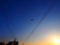 [風景][ポップアート]夕日