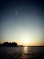 [風景][トイフォト]夕日