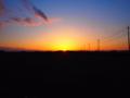[風景]夕日