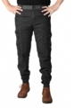 COTTON CARGO KRYSTLE CRAFT ZIPPER GREY AND BLACK JEANS