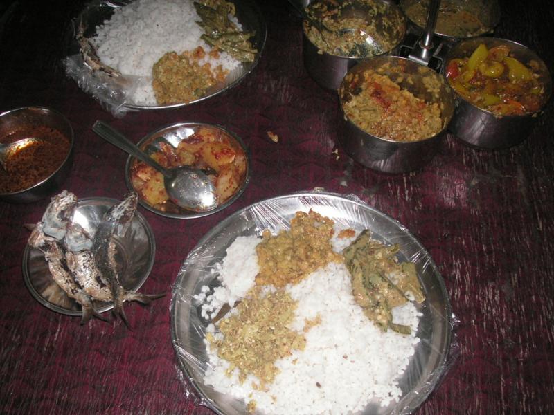 スリランカ カレー ゴール 食事