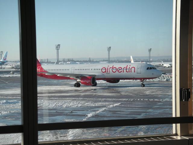 オルリー空港に着陸したエア・ベルリン