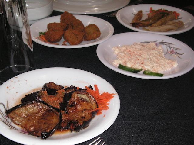 エジプト ツアーの昼食