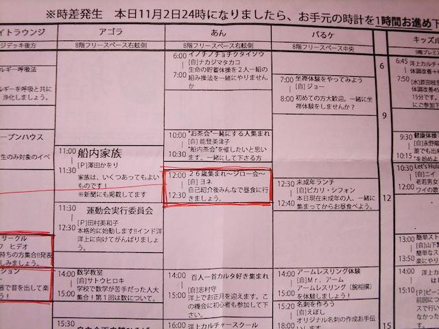 ピースボート船内新聞拡大