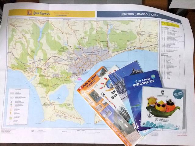 ピースボート海外の地図