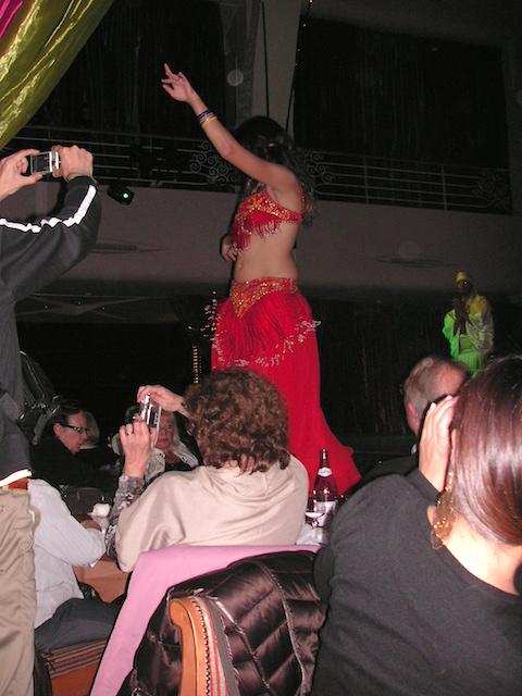 チュニジアベリーダンスショー
