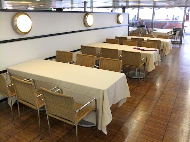 ピースボートオーシャンドリームビュッフェレストラン2
