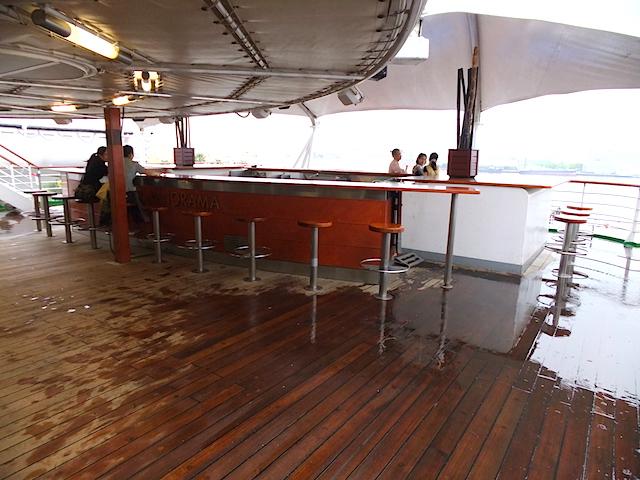 ピースボートオーシャンドリーム バーパノラマ
