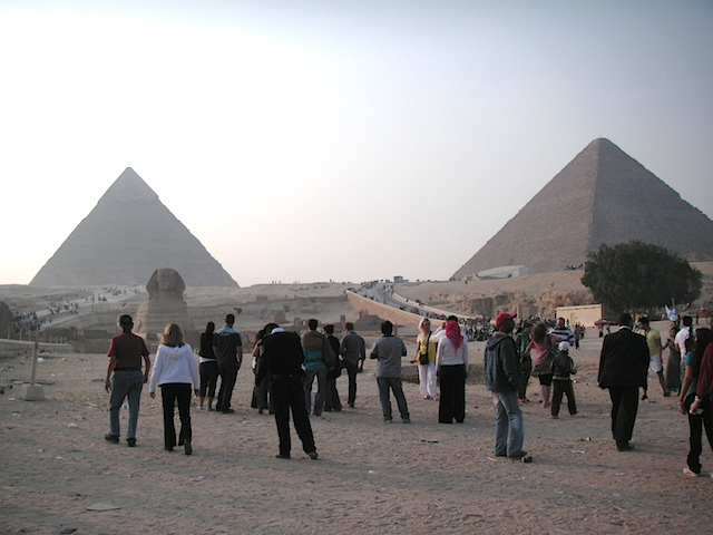 エジプト カイロ 世界遺産ピラミッド2
