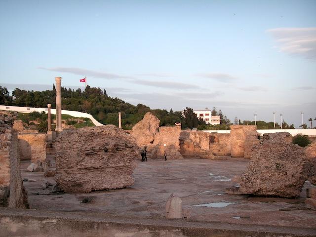 チュニジア 世界遺産のカルタゴ遺跡