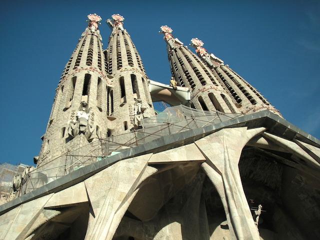 スペイン バルセロナ 世界遺産のサグラダ・ファミリア1