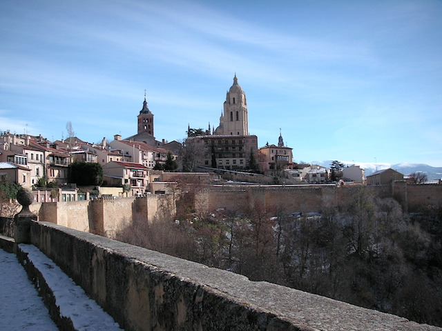 スペイン セゴビア世界遺産旧市街