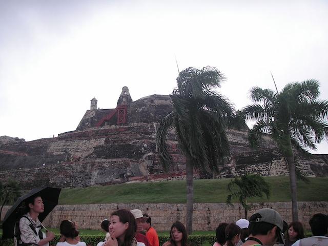 コロンビア カルタヘナ世界遺産の要塞