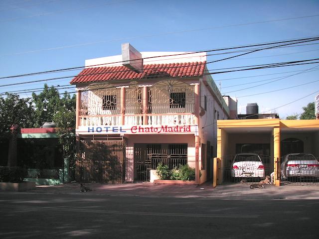 ドミニカ共和国ホテルHOTEL Chato Madrid