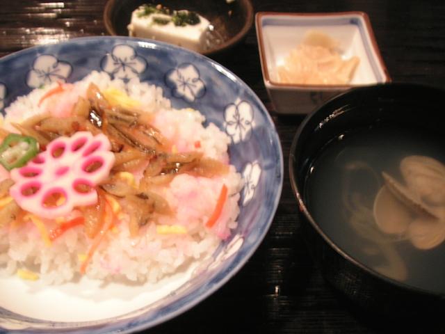 ピースボートちらし寿司