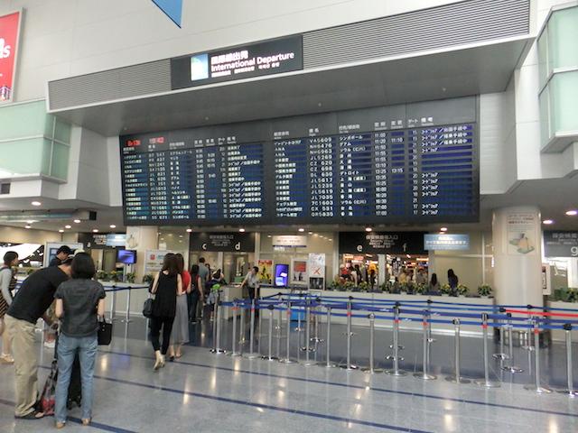 中部国際空港国際線入口