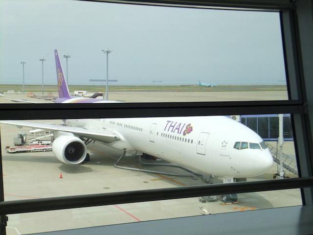 タイ国際航空機体