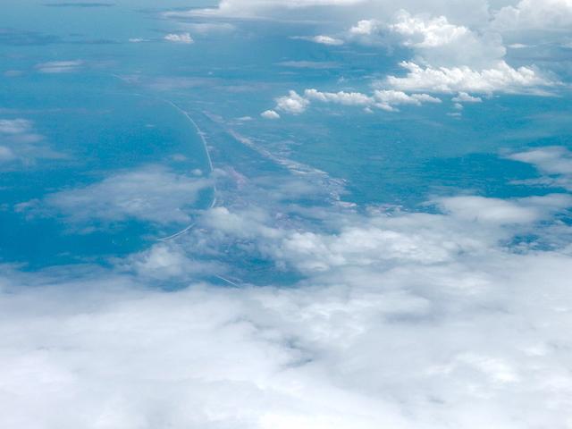 ベトナム ダナン上空