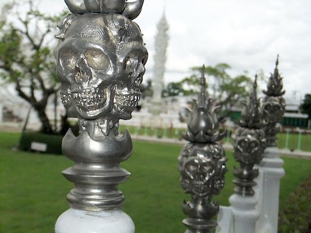 タイ チェンライ ホワイト・テンプル4