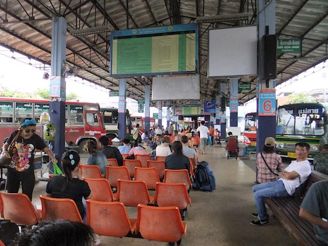 タイ チェンライ 第1バスターミナル
