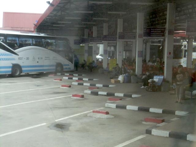 タイ チェンライ 第2バスターミナル