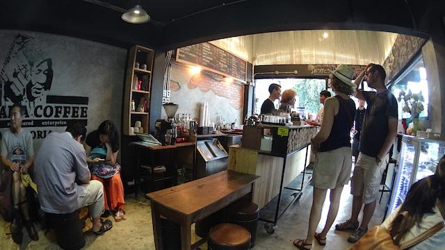 タイ チェンマイ アカアマコーヒー2