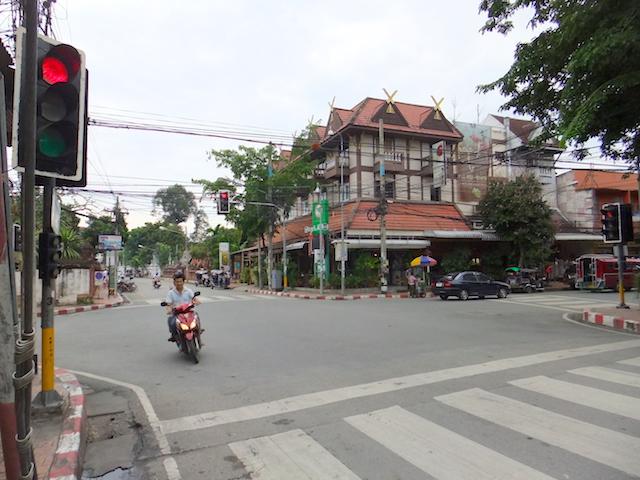 タイ チェンマイ 市街地