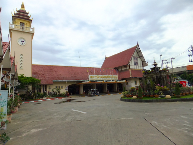 タイ チェンマイ駅