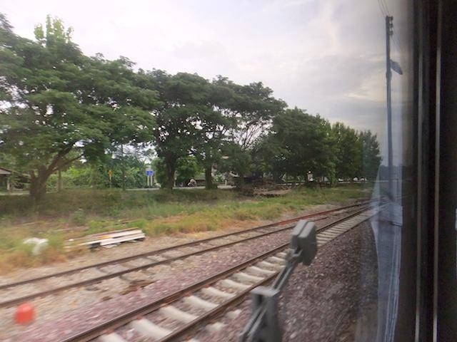 タイ国鉄 車窓