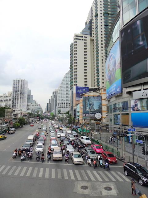 バンコク 交通渋滞