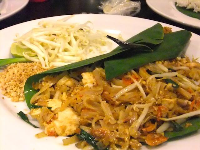 タイ パッタイ 料理