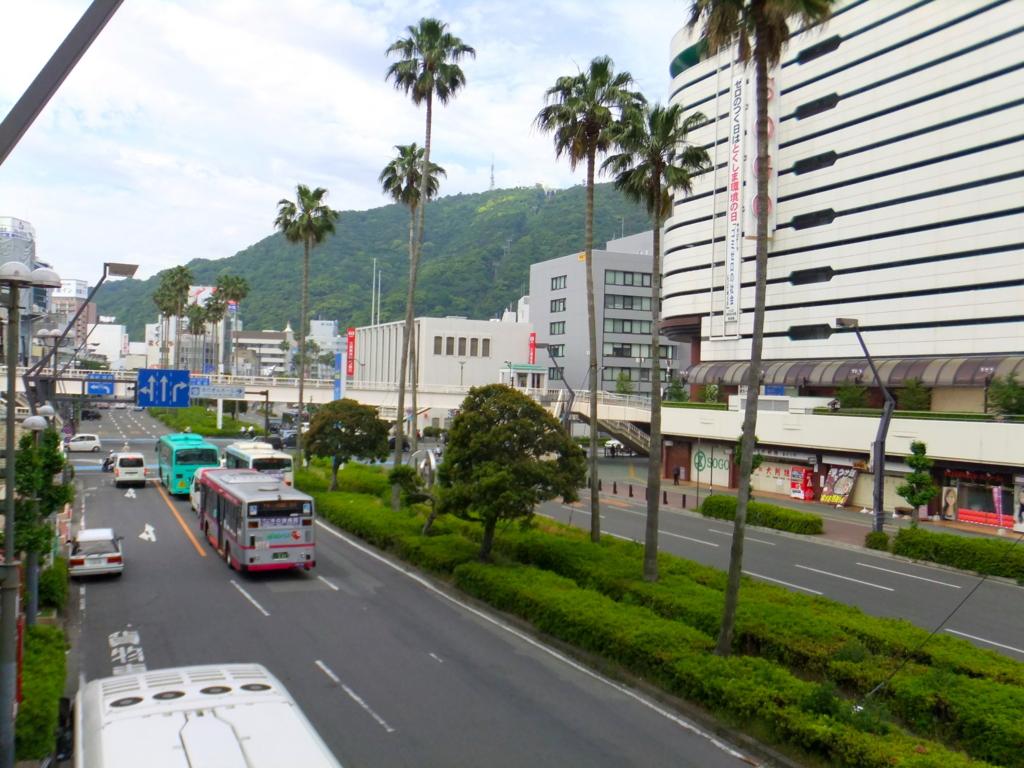 四国 徳島駅 駅前 眉山