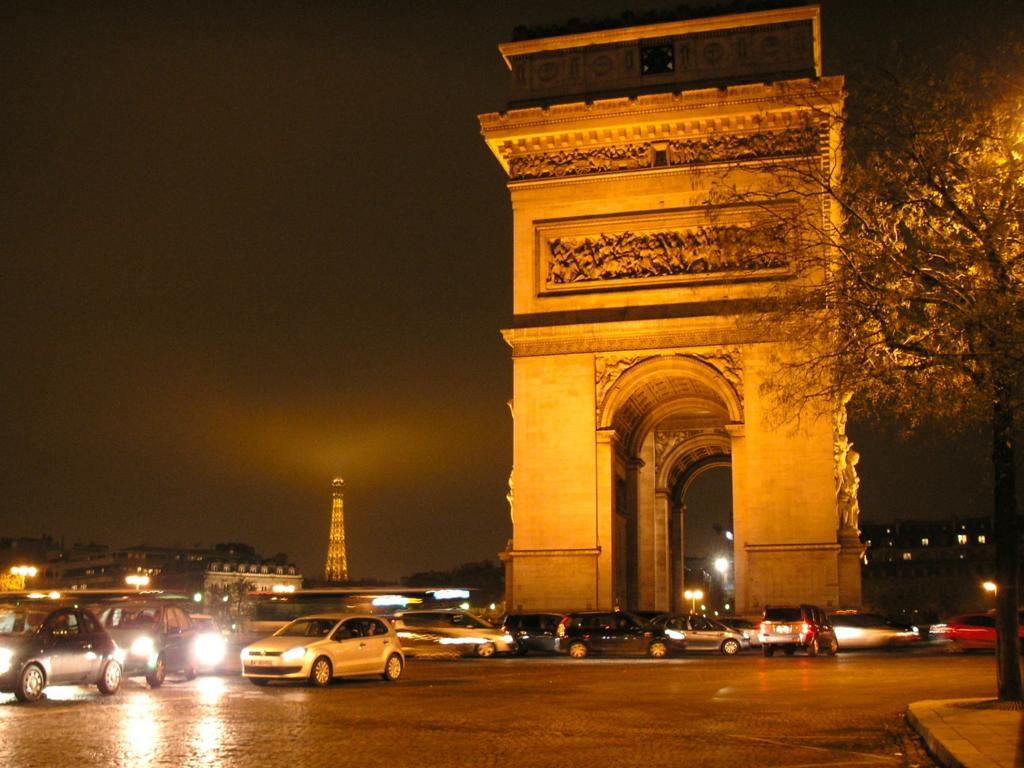 フランス パリ エトワール 凱旋門