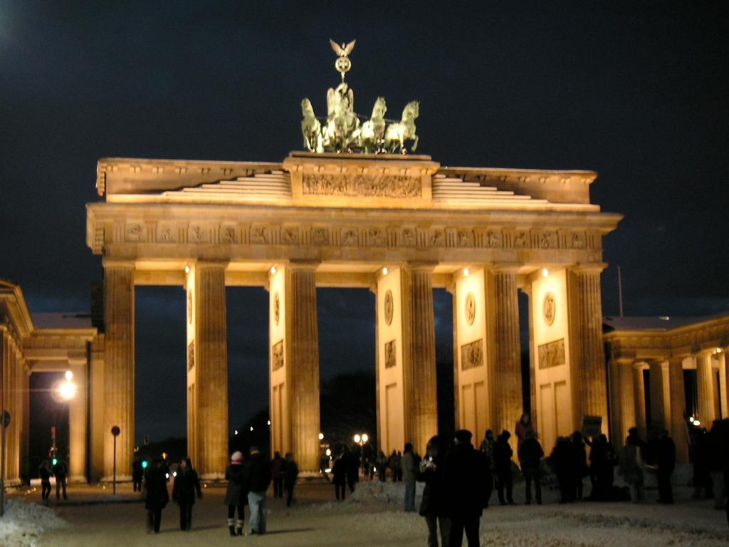 ドイツ ベルリン ブランデンブルク門 凱旋門