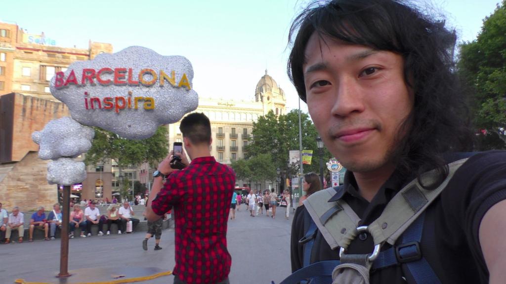 スペイン バルセロナ カタルーニャ広場